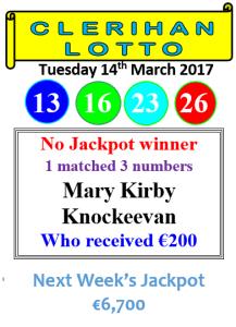 Lotto 14032017