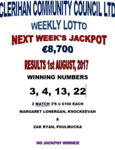 Lotto 01082017