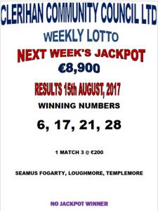 Lotto 15082017