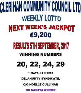 Lotto 05092017