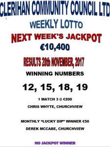 Lotto 28112017
