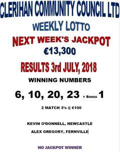 Lotto 03072018