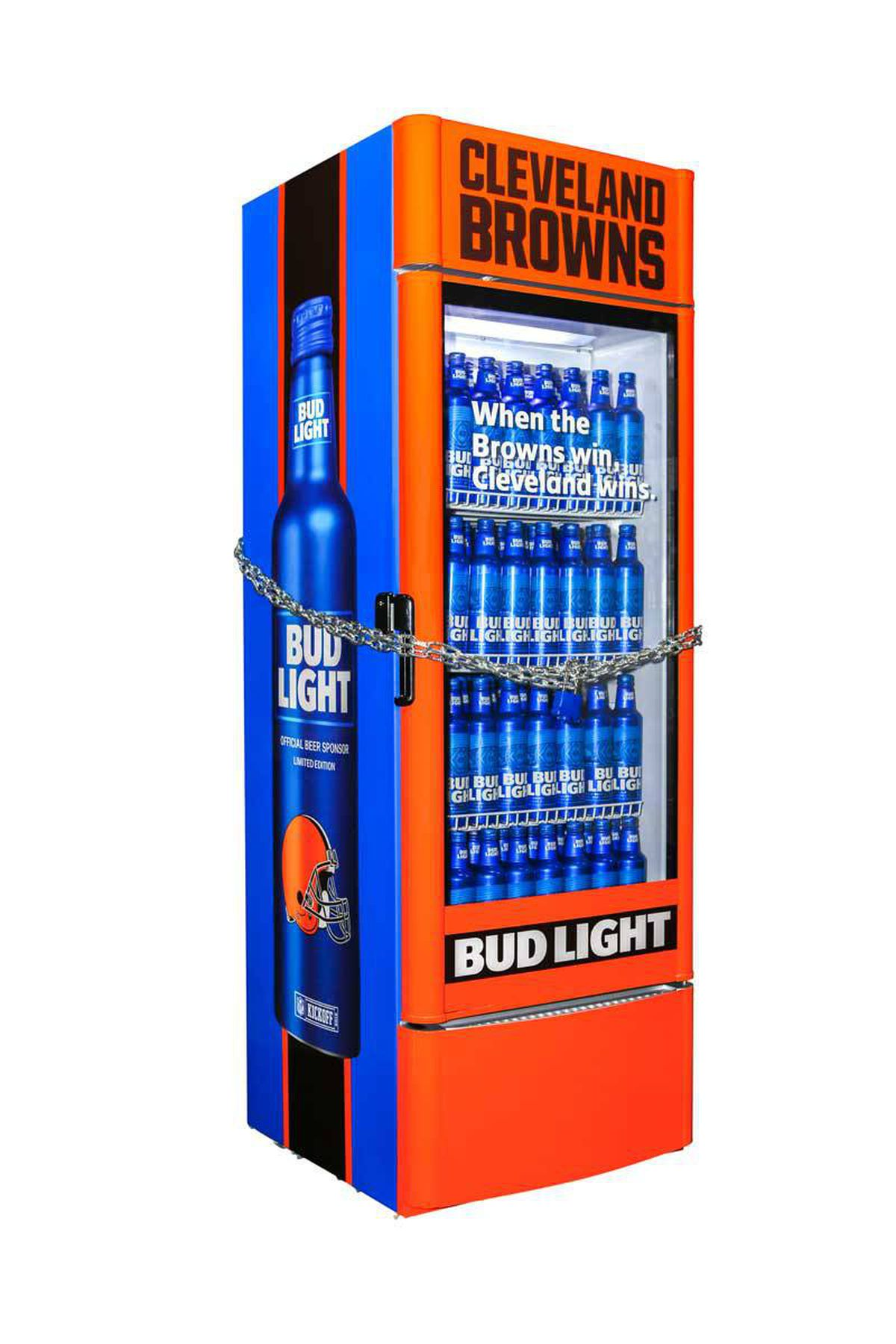 Fridge Light Bud Light Browns Victory Fridges Available For Purchase