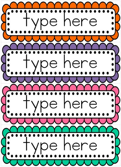 Personal Word Wall Template A Love For Teaching Personal Word Wall 8