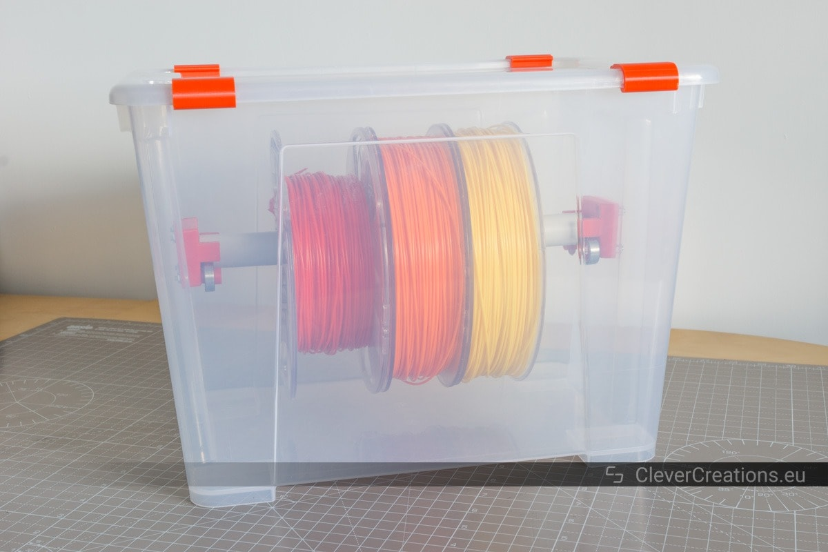 Aufbewahrungsbox Ikea Samla Diy 3d Printer Filament Dry Boxes Clever Creations