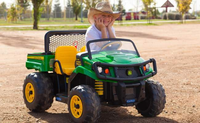 The Top 10 Best John Deere Ride On Toys That Make Little