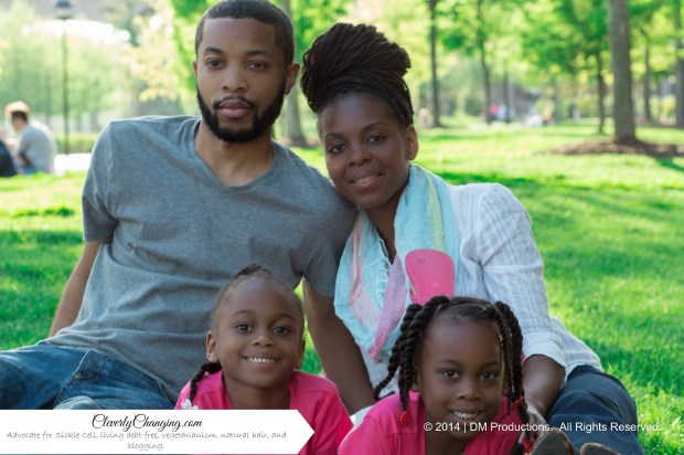 Blogger, speaker, educator, wife, mom to twins. Advocate for Sickle Cell, living debt free, vegetarianism, and natural hair. http://CleverlyChanging.com