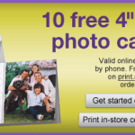 Staples is offering 10 free 4 X 8 photo cards for FREE