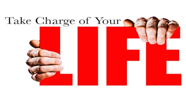 Take Charge of your Life by living healthy.