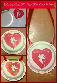 Valentine's Day DIY Paper Plate Card Holder!   Cleverly Me ...