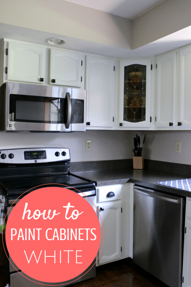 How To Paint Cabinets From Someone Who Just Did