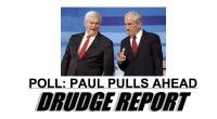 Top of Drudge Report 121911
