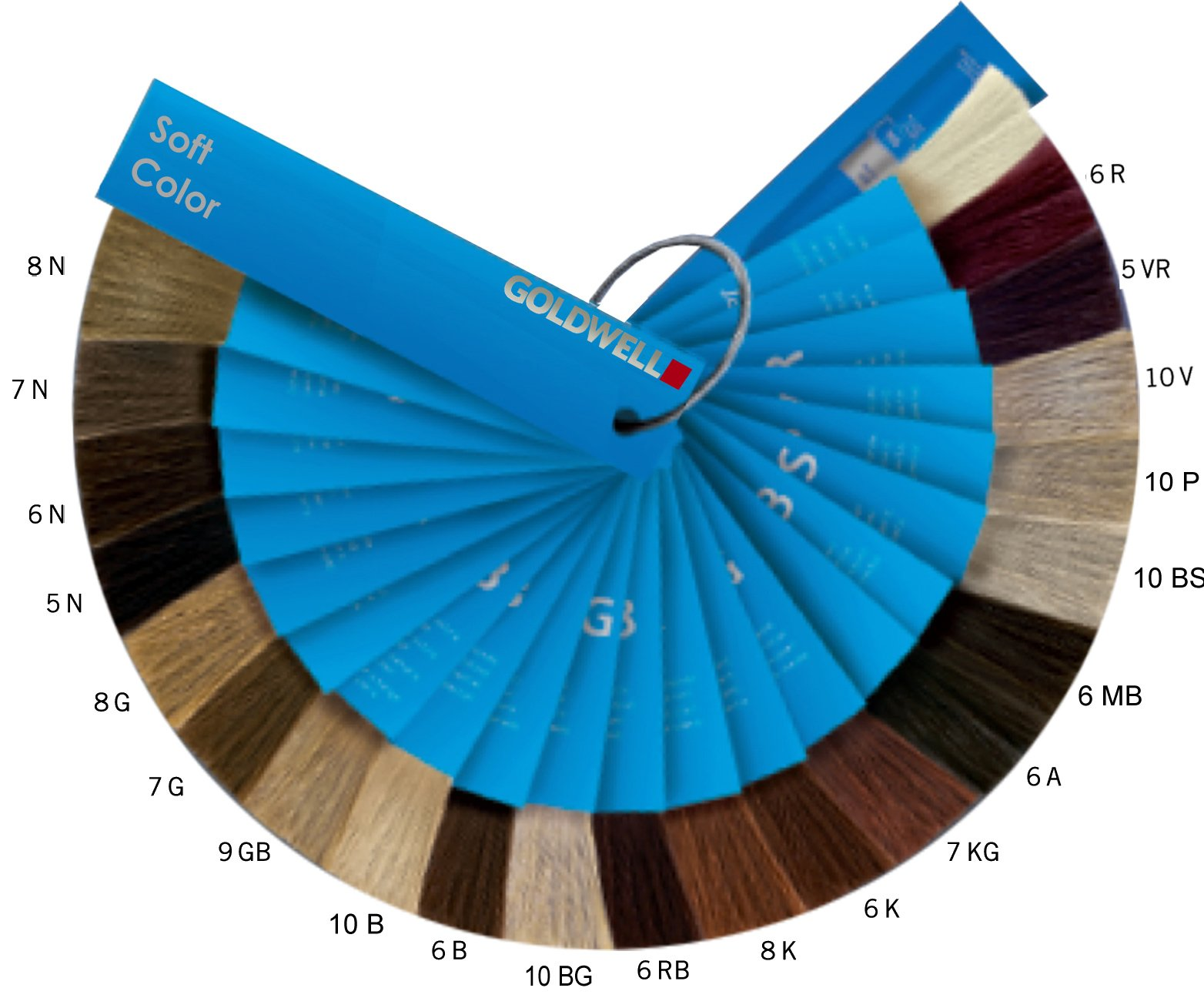 Dunkelblond Farbpalette Colorance Soft Color Online Kaufen Clickandcare Ch