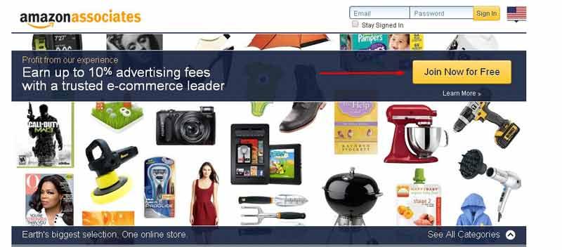 Hướng dẫn đăng ký tài khoản Amazon