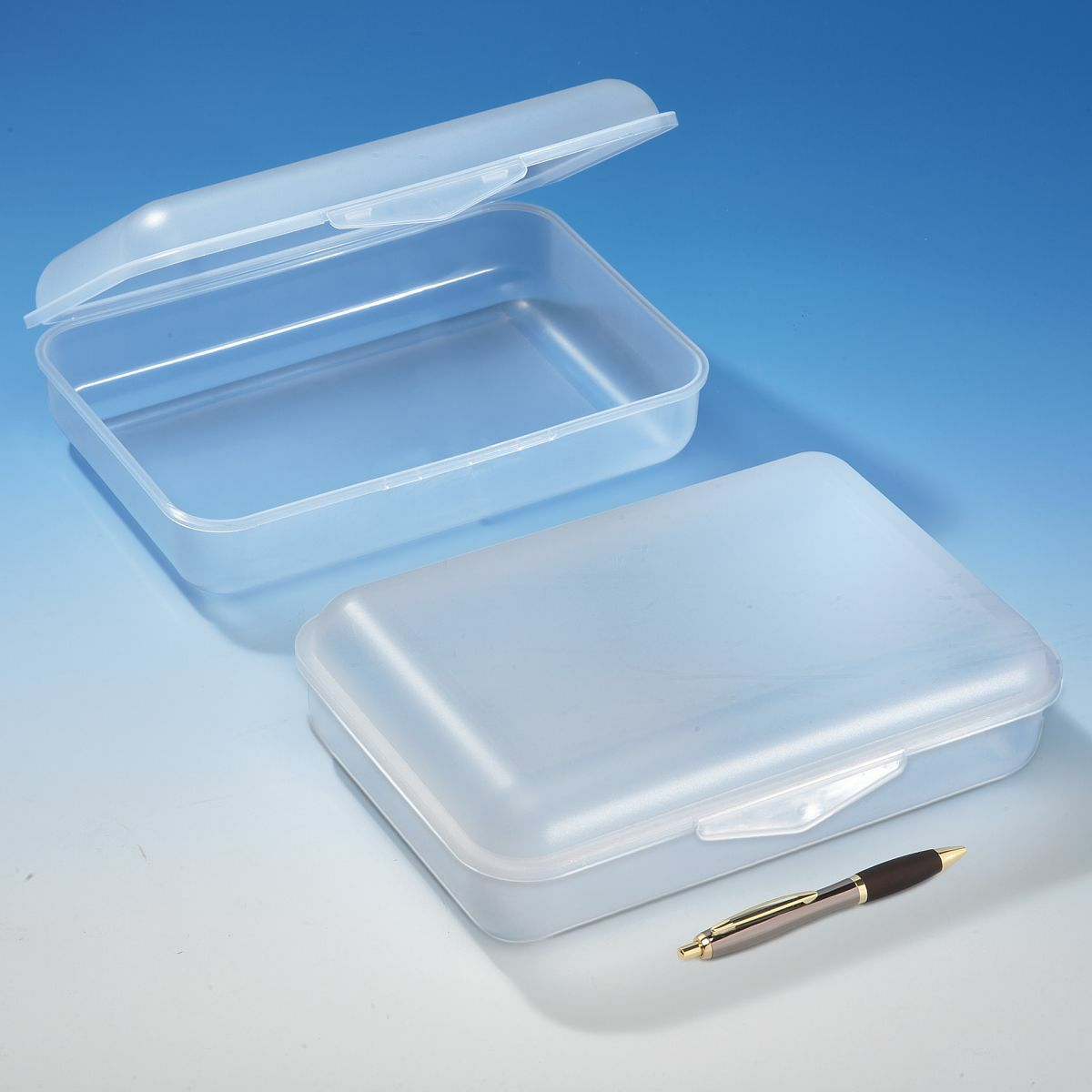 Stapelboxen Kunststoff Klickbox Maxi, 300 X 200 X 85 Mm, Transparent | Clickbox
