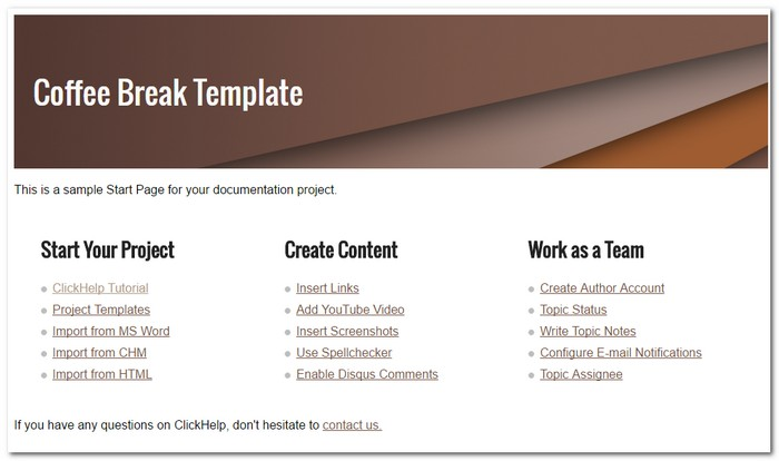 6 Tips For Online Documentation Design Technical Writing Blog - manual design templates