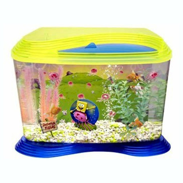 Nuwave Glass Aquarium Fish Tank With Easy Opening Lid 6 Gallons | eBay