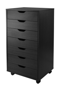 Winsome Halifax Wooden Closet Storage Cabinet With 7 ...