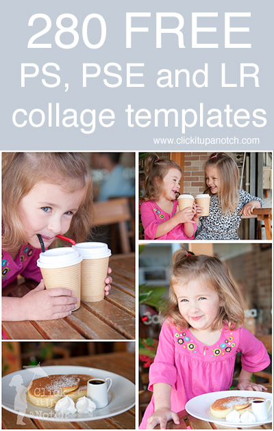 280 Free Collage Templates for Photoshop, Photoshop Elements and - free collage templates
