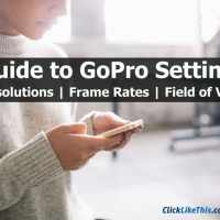 Guide to GoPro Settings: Resolutions, Frame Rates, and FOV