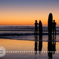 Silhouette // Coastline {Photo Challenge}