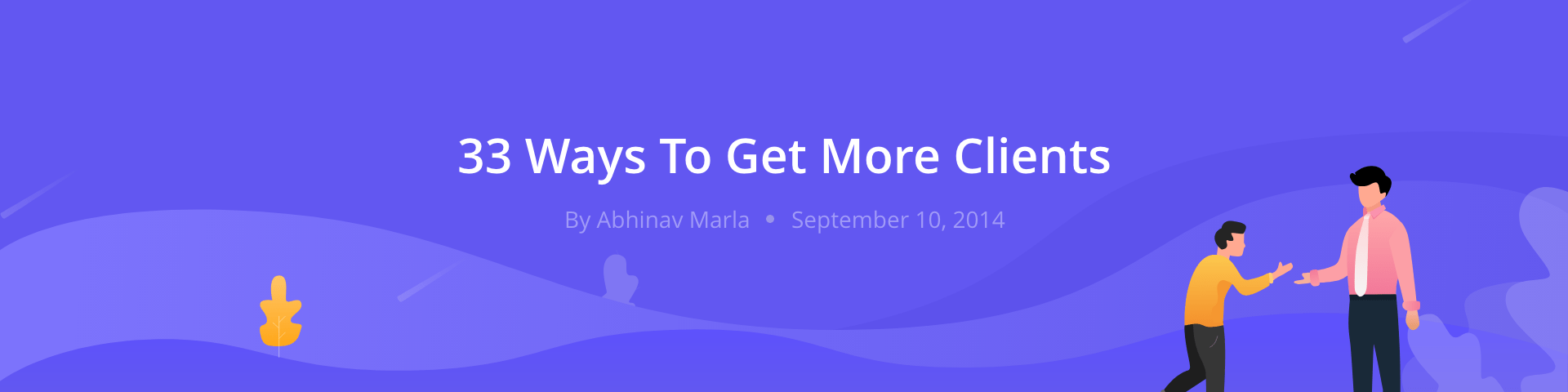 Get More 33 Ways To Get More Clients