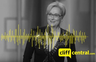 #GCSpodlet – Gareth rants about Meryl Streep's Golden Globes speech