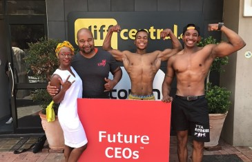 Future CEOs – Claude Maphosa: CEO of A-Team Gym
