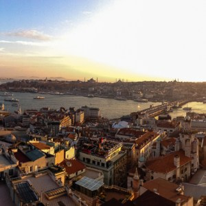 Istanbul from the Galata Tower