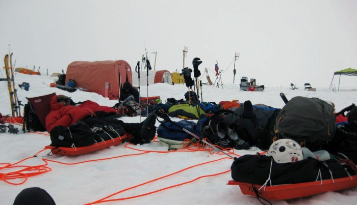 Denali Kahiltna Glacier Base Camp