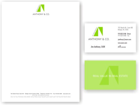 Business Cards/Letterhead « Clina Polloni Design - letterhead and envelope design