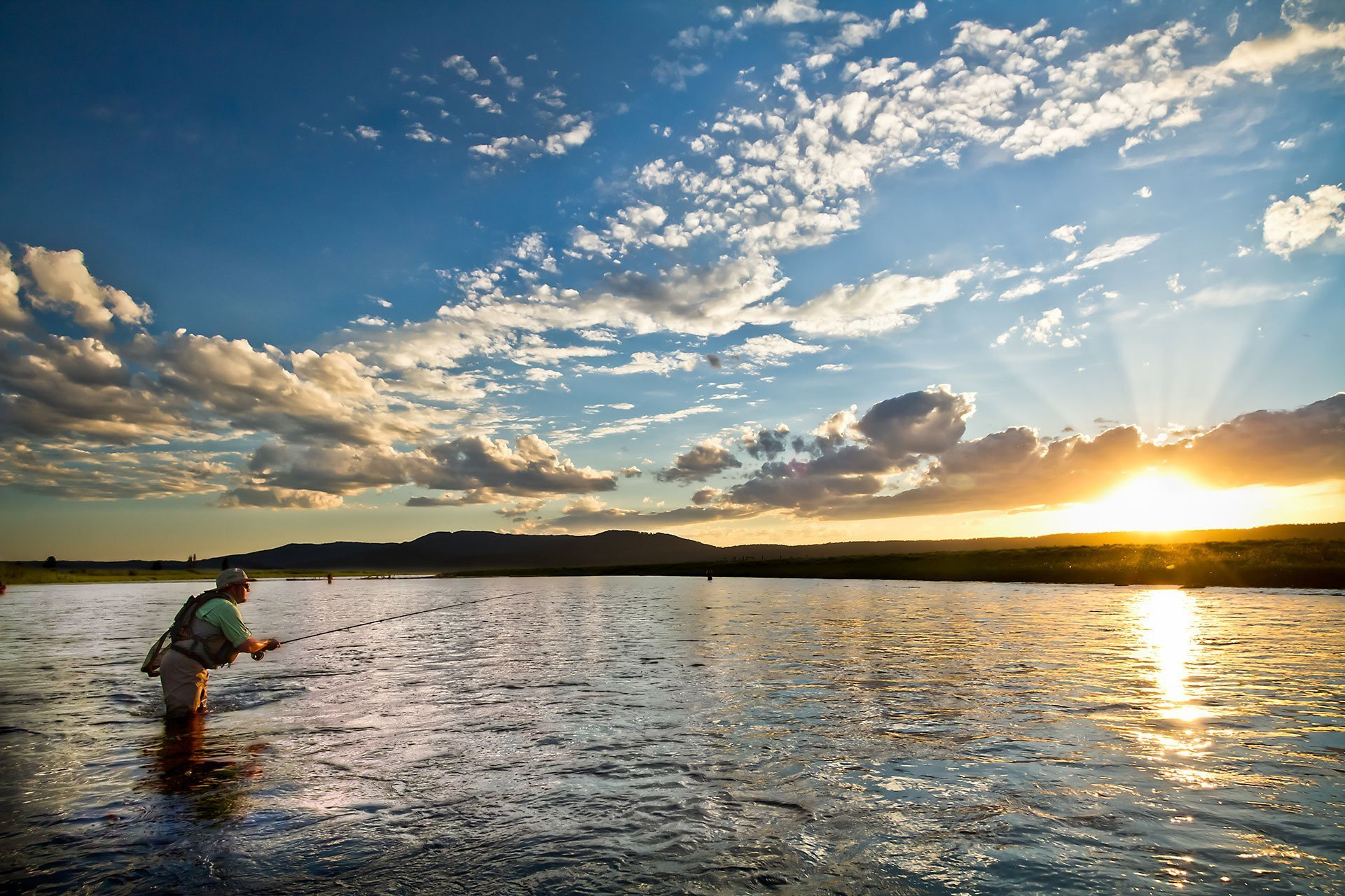Panoramic Wallpaper Fall Last Cast Fly Fishing Photography Clint Losee Photography