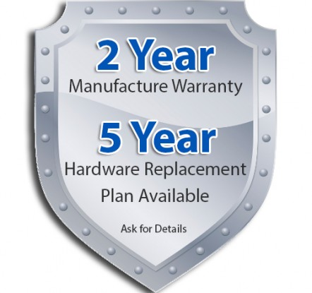 Clio 2 Year Warranty & 5 Year Replacement Plan