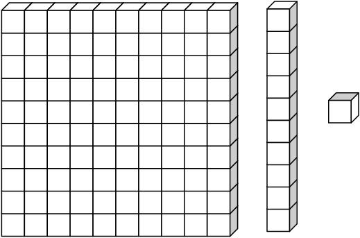 Place Value Base Ten Blocks Clip Art Library