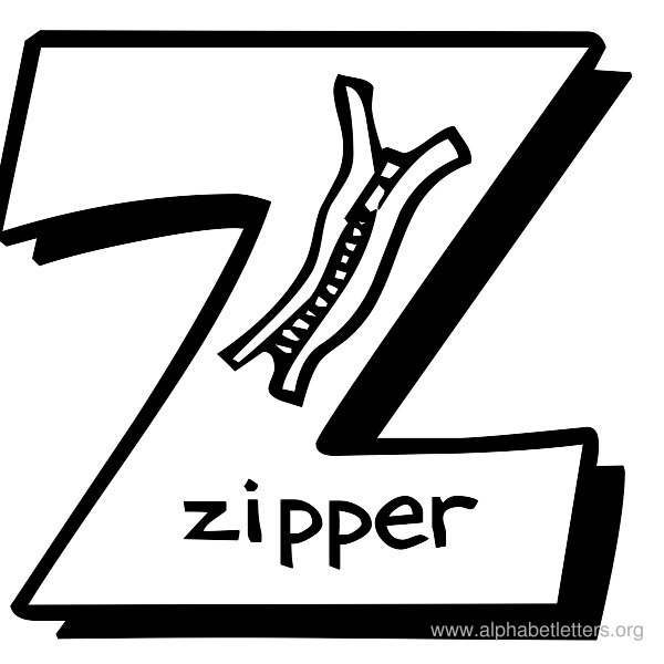Alphabet Letters Z Printable Letter Z Alphabets - Clip Art Library