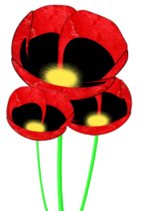 Remembrance Day Poppy Template - Clip Art Library