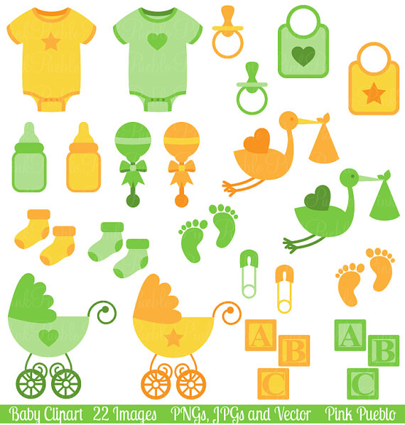 Printable Baby shower - Clip Art Library