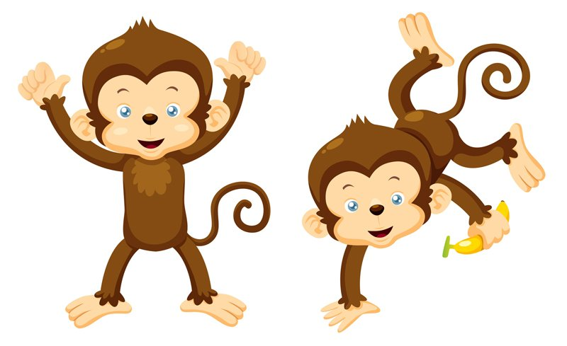 Free Monkey Border Cliparts, Download Free Clip Art, Free Clip Art