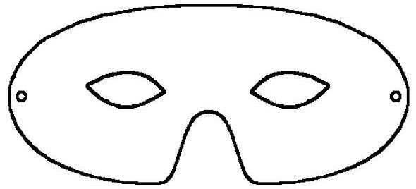 Free Masquerade Mask Stencil, Download Free Clip Art, Free Clip Art