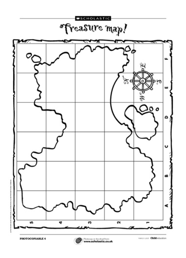 Free Treasure Map Outline, Download Free Clip Art, Free Clip Art on