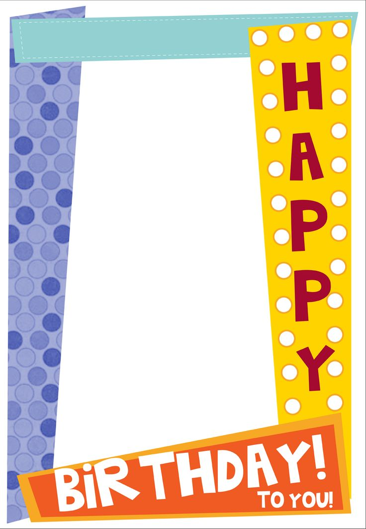 Free Birthday Frame, Download Free Clip Art, Free Clip Art on