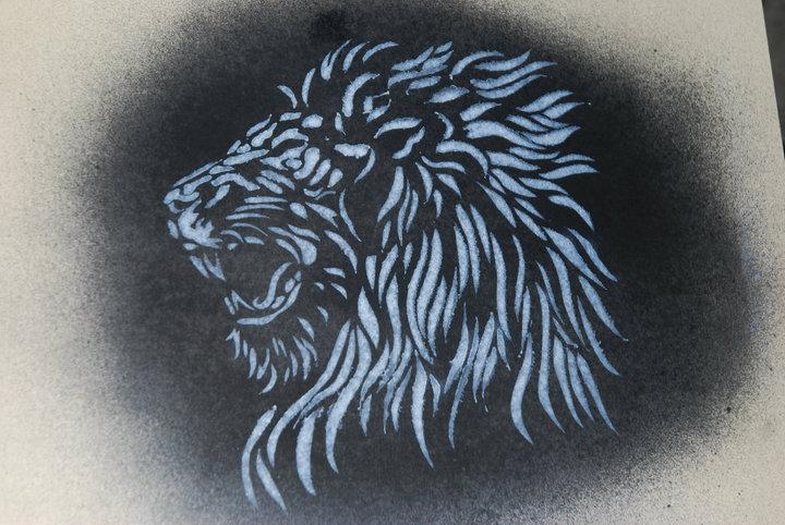 Free Lion Stencil, Download Free Clip Art, Free Clip Art on Clipart