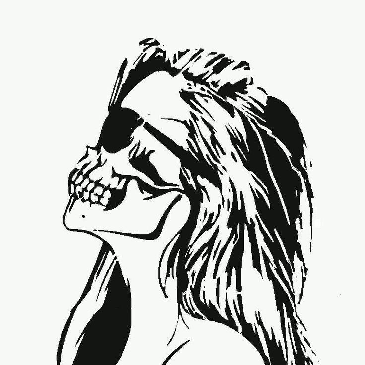 Free Deer Skull Stencil, Download Free Clip Art, Free Clip Art on