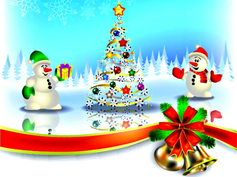 3d Xmas Tree Live Wallpaper Free Merry Christmas Cartoon Images Download Free Clip