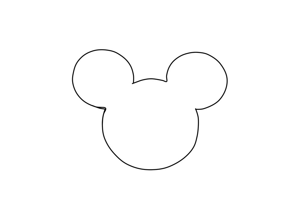 Mickey Mouse Donut Plush Template by LittleMissPlush on Clipart