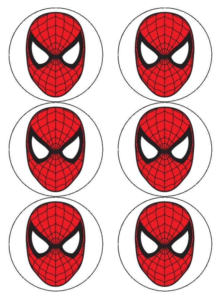 Free Spiderman Face, Download Free Clip Art, Free Clip Art on