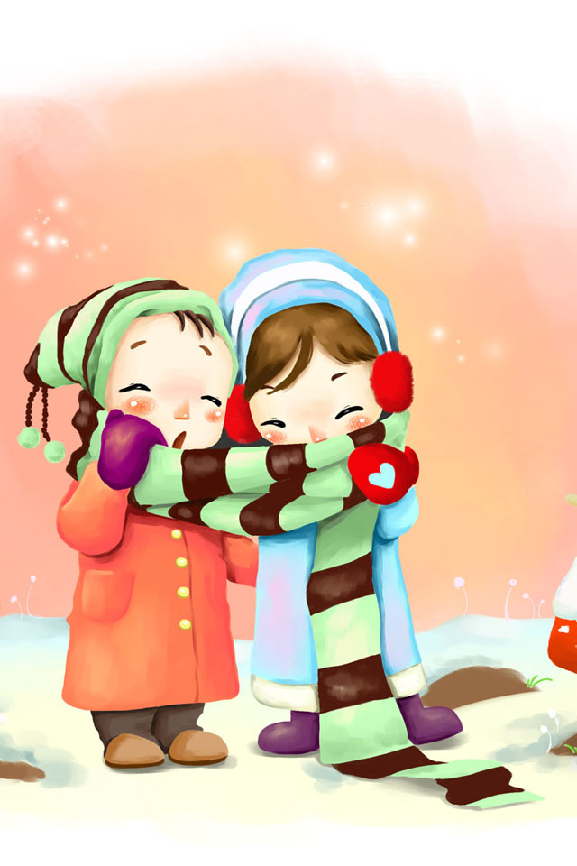 Mobile9 Wallpaper Lovely Girl Free Cute Couple Wallpaper For Iphone Download Free Clip