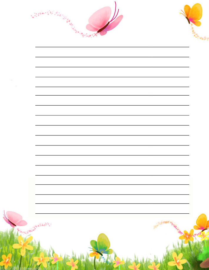 writing paper free printable border designs for paper clip art - Lined Paper To Write On