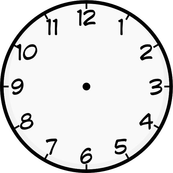 Free Clock Templates, Download Free Clip Art, Free Clip Art on