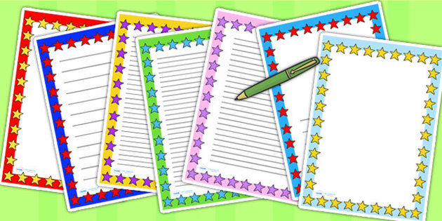Free Borders For School Projects On Paper, Download Free Clip Art - free paper templates with borders